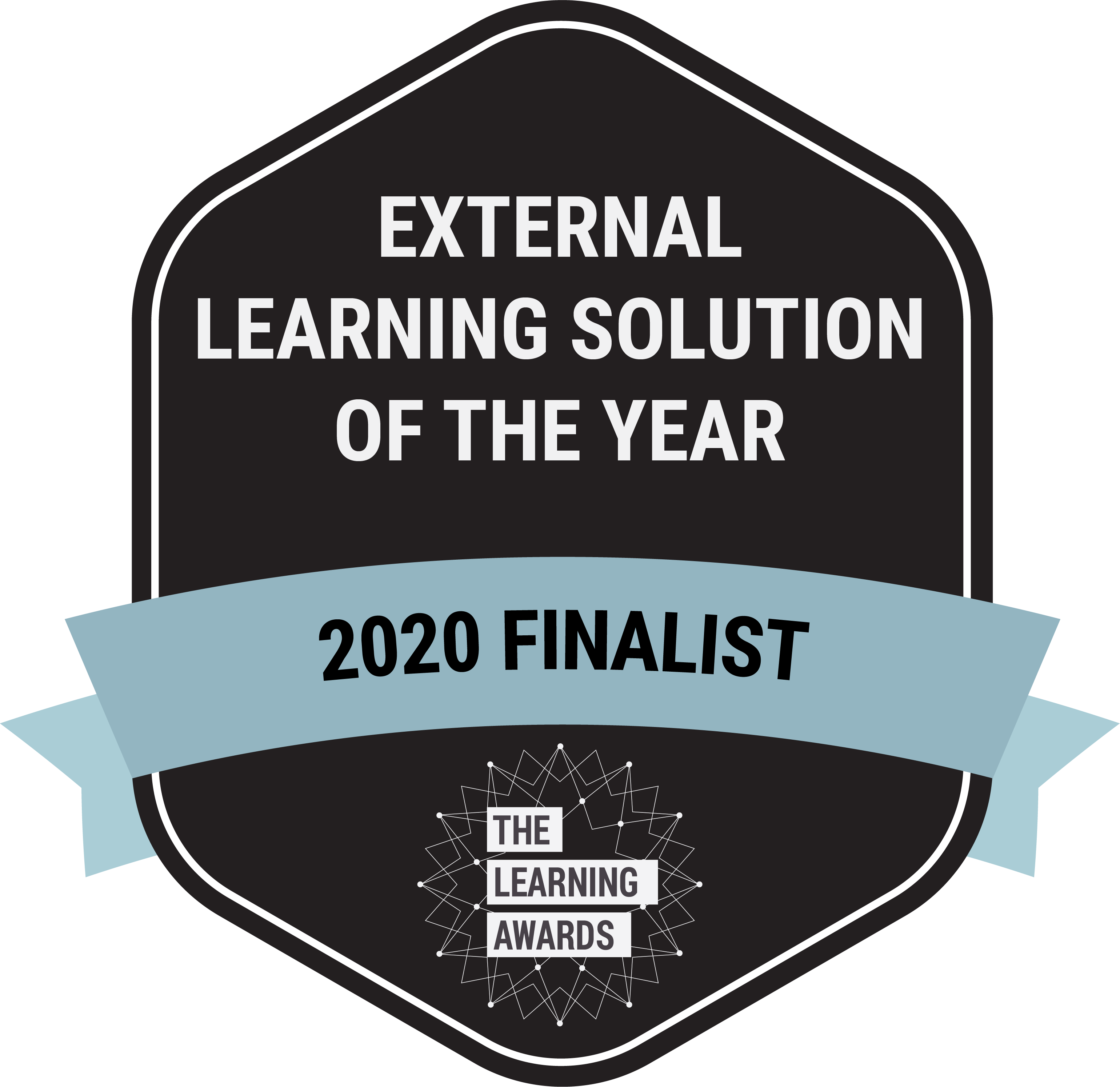 Learning & Performance Institute 2020 Learning Awards Shortlisted Finalist