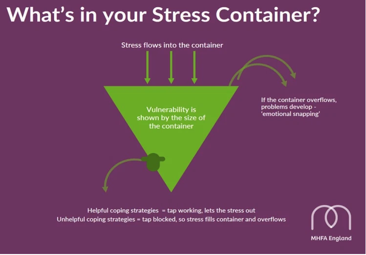 Stress Container - Mental Health First Aid